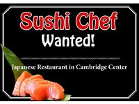 Experienced Sushi Chef Wanted, Cambridge City Centre, Full Time