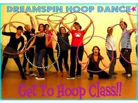 Hula Hoop Improvers - Progress your hoop skills! Thursday 2nd March