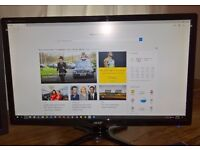 "27"" Full HD 1080p 2ms 60Hz LED Acer G276HL gaming monitor 250 cd/m�� 100,000,000:1 DVI+HDMI+VGA"