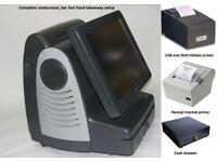 Epos till kitchen and receipt printer cash drawer software pub club New touch
