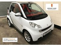 2010 Smart For Two Passion Mhd Cabriolet *Start Stop* *Sat Nav* Air Con 70Mpg 3 Month Warranty