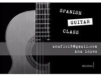 SPANISH AND CLASSICAL GUITAR LESSONS