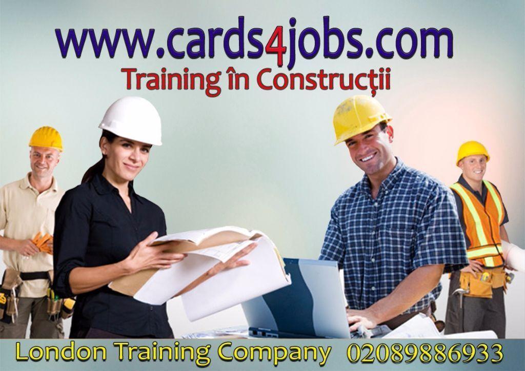 Traffic Marshall Course London.Constructi card-uri oferta speciala.Traffic Marshal certificat + card