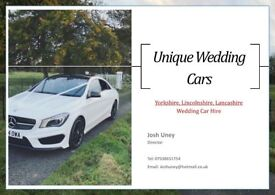 Luxury Mercedes Benz Wedding Car for your Special Wedding Day - Yorkshire & Lincolnshire
