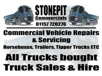 All Commercial Vehicles Wanted, new and old, running or not. Commercial Vehicle Services