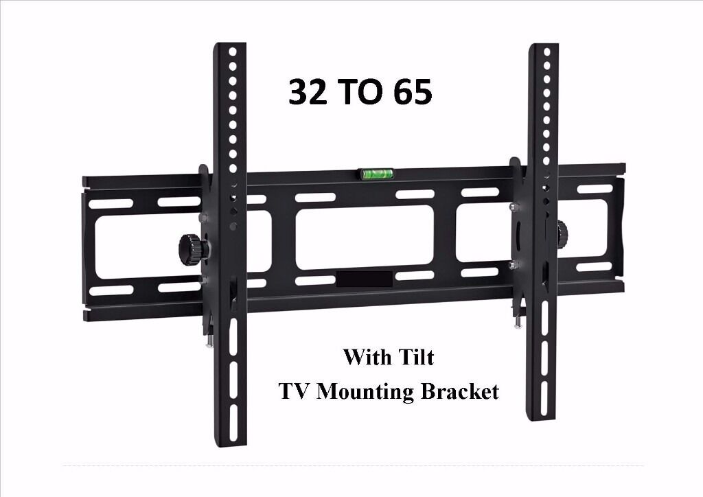 TV WALL BRACKET LCD Tilting TV mount 3265 SKY PC I PHONE NEWin Wallsend, Tyne and WearGumtree - LCD Tilting TV wall bracket mount 32 65 SKY NEW with all the fixings (( MADE for the TV TRADE! )) This TV Bracket offers an easy and convenient mounting solution for your television The bracket will securely fix your TV and give it a touch of style...