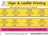 LEAFLET Printing ,BROCHURES,FLYERS - POSTER -BUSINESS CARDS& Vinyl stickers,TAXI Cards London,Slough