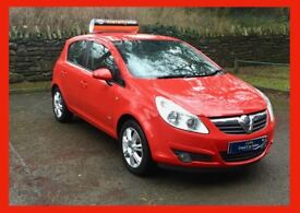 £25 wk LEATHER seats/CHEAP motoring! vauxhall corsa DESIGN 1.2 CDTI DIESEL manual 2009 (59) NEW mot