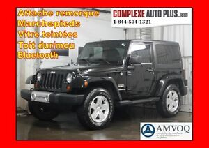 2011 Jeep Wrangler Sahara 4x4 *2 Toits dur/moue
