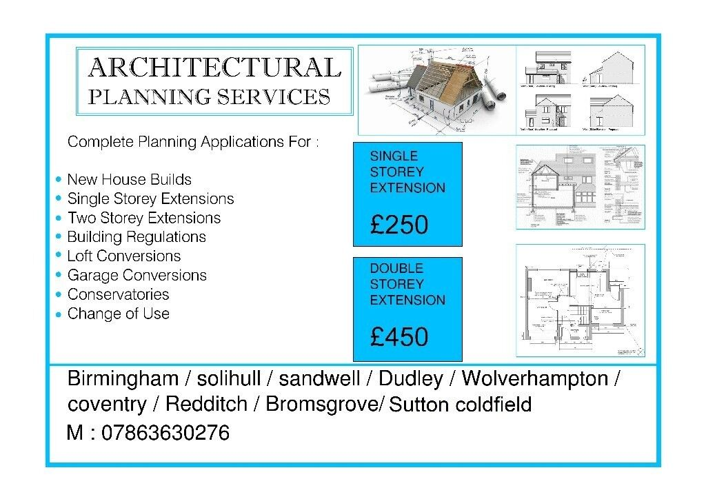 Architectural design Services, Planning Applications, Building ...