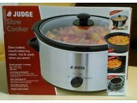Judge 3.5 Litre Slow Cooker (Never Used - Boxed as NEW)