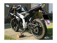 50cc road bike Rieju RS3 50