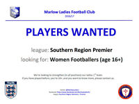 Marlow Ladies FC - Players Wanted