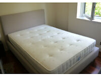 Double bed and matress in good condition