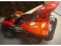 Massive over 5ft by over 3ft Kids electric ride on car in as new condition
