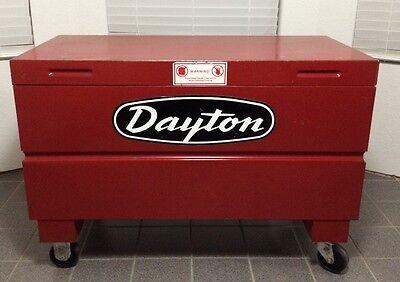 Dayton Tool Storage Box Casters Oklahoma City 73170 Model 6c695usa