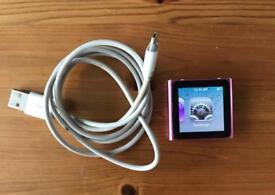 iPod Nano 6th generation pink