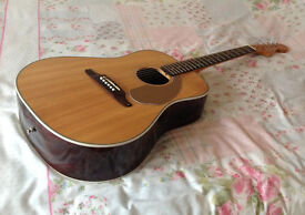 Fender acoustic guitars individually priced