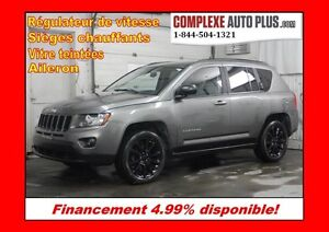2012 Jeep Compass High Altitude 4x4 AWD *Mags 17po Noir