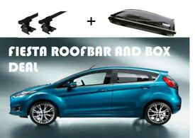 Ford Fiesta 2008 -- 2016 Roof Box and Bar deal