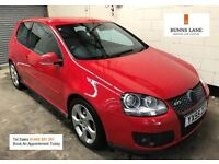2005 55 Vw Golf 2.0 Fsi Gti 200Bhp 10 Service Stamps Air con Alloys 12 Month Mot 3 Month Warranty