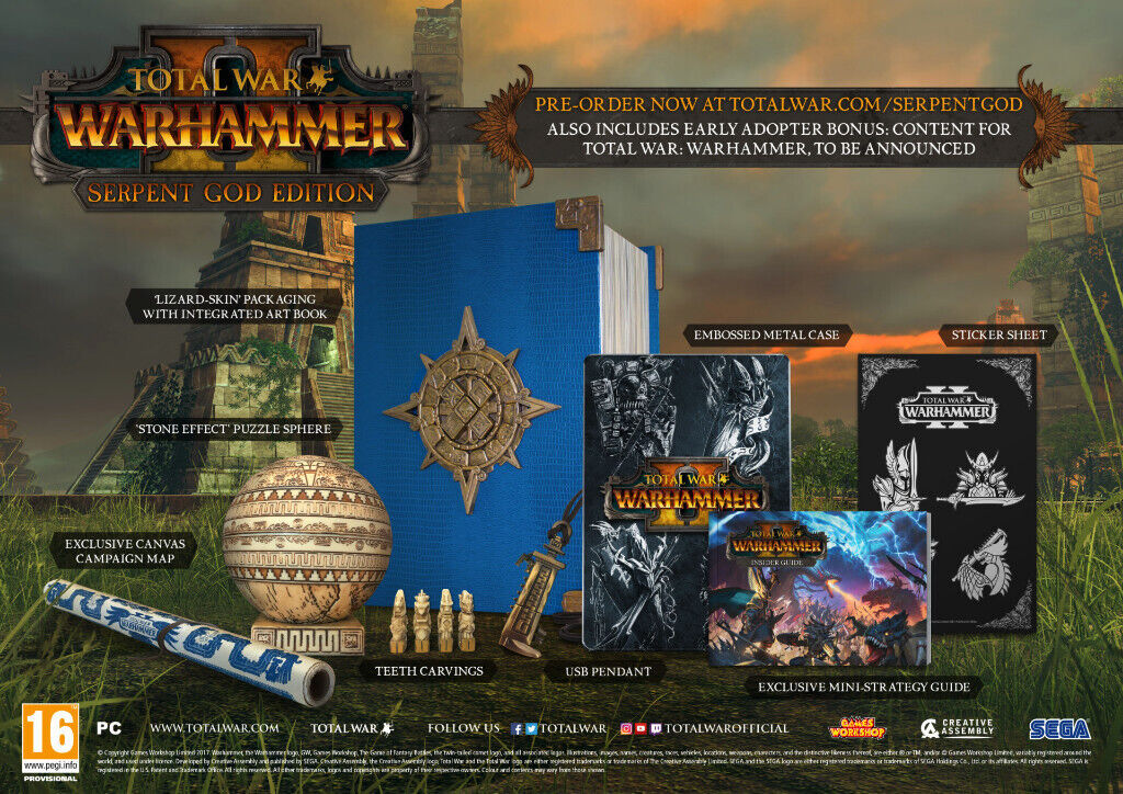Brand-New PC WARHAMMER II Serpent God Special Collectors Edition | in York,  North Yorkshire | Gumtree