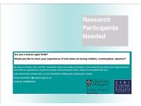 Research Participants Wanted