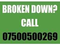 Cheap 24 Hour Car Vehicle Breakdown Reco very Assistance from £30 07500500269