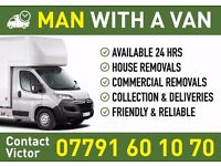 Man with van all kind of removals