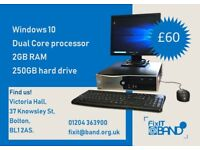 NEC PC running windows 10, with keyboard/mouse/monitor £60