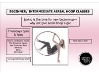 BEGINNER/ INTERMEDIATE AERIAL HOOP/ LYRA CLASS