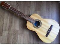 BM Clasico 6 String Acoustic 4/4 Spanish Classic Acoustic Guitar Natural Nylon strings