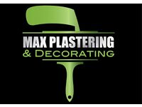 Welcome to Max plastering and decorating in Brighton &a Hove and Sussex