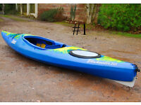 Dagger Blackwater 10.5 Kayak with two spray decks! and two carbon paddles!