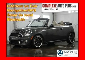 2011 Mini Cooper S Convertible *Turbo, Navi/GPS, Cuir