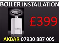 £399 BOILER INSTALLATION,replacement,heating,RADIATORS,HOB,COOKER INSTALL,water cylinder removed