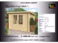 Log Cabin Shed / Summerhouse / Garden Room