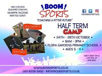 Boom Sports October Half Term Camp Hammersmith