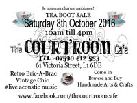 Tea Boot Sale