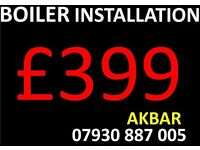COMBI Boiler Installation,POWERFLUSH, Back Boiler Removed, UNVENTED MEGAFLO,Gas safe underfloor heat