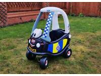 Little Tikes Police Cozy Coupe Ride-On