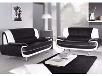 **Brand new carol 3n2 leather sofas**