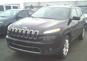 2015 Jeep Cherokee LIMITED + 4X4 + CAM RECUL + V6