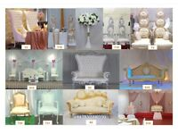 Wedding Throne Chairs Party Decoration & Hire Service