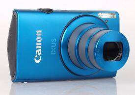 Canon IXUS 230 HS Digital Camera - Blue (12.1 MP, 8x Optical Zoom) 3.0 inch LCD