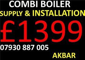 boiler installation,POWERFLUSH,megflo,SYSTEN TO COMBI,RADIATORS,Gas safe,underfloor heating,VAILLANT