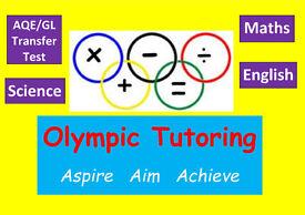 AQE/GL Transfer Test Tuition and GCSE Maths/English Tutor