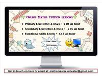 Experienced Mathematics Tutor Providing Online Tutorial Lessons upto GCSE level