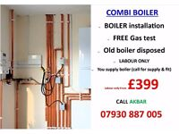 £399 Combi Boiler installation,Replacement,BACK BOILER REMOVED,underfloor heating,central heating