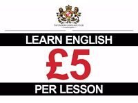 English Lessons in Central London! (Two minutes from Chancery Lane Tube)